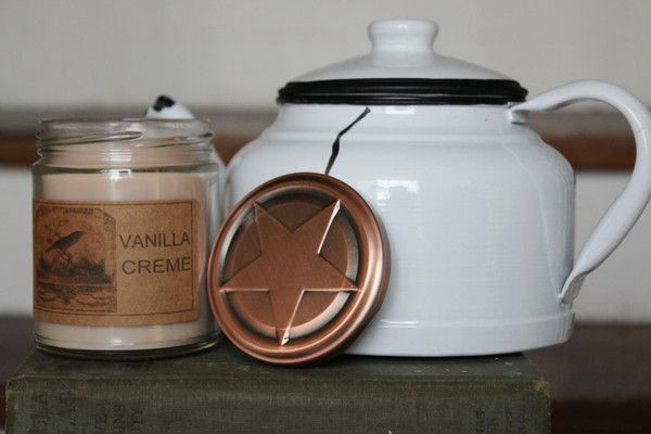 Vanilla Creme 8oz Soy Blend Candle
