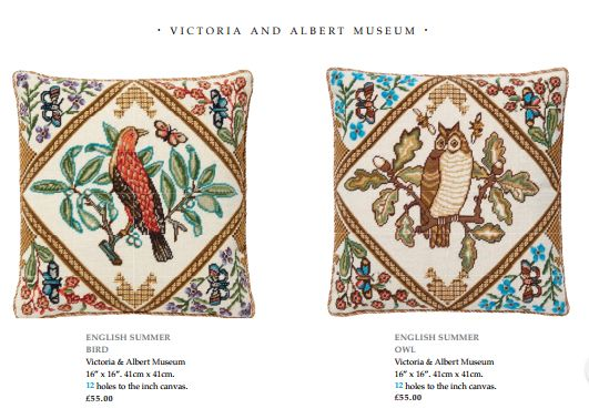 Completed in 1914 by Mrs Archibald Christie, the first teacher of embroidery at the Royal College of Art, this lovely panel is part of the Victoria and Albert Museum's permanent collection. It is an Edwardian love letter to the English countryside which before the first world war was still largely unspoilt.