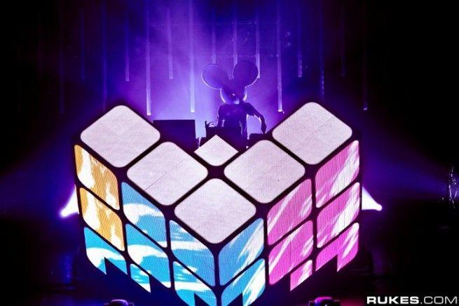 DJ staging
