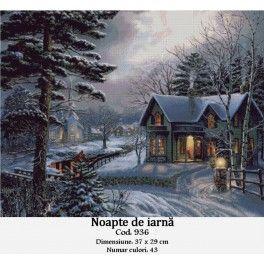 Set goblen - Noapte de iarna
