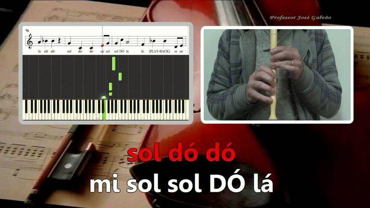 Playback - Carlos Paião - Karaoke para flauta - Educação Musical - José ...