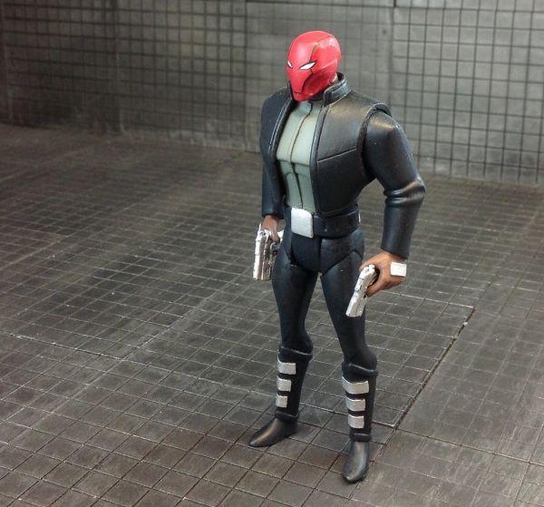 Te Red Hood Animated (Batman Animated) Custom Action Figure