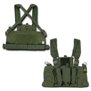 Olive Drag Molle Heavy Duty Tactical Chest Rigs