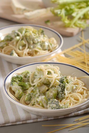 Cestovinový expres: Špagety s omáčkou zo stonkového zeleru