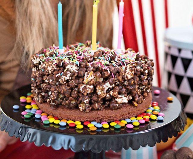 Baka en popcorntårta | Handverkarna.se | Bloglovin'