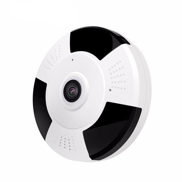 1080P/960P HD IP Panorama Camera with IR Night Vision, Wifi, 360 Degree Full View Home Security Surveillance Camera. Noted: Because of the difference between the panoramic video algorithm and the traditional video industry algorithm, the picture is round, the software test screen resolution is 960 * 960, the actual effect is 200W 1080P 130W and 200W are the same as 960 * 960 The actual effect is 1080p IR Distance(m): 10mTechnology: InfraredAlarm Action: Local AlarmSensor: CMOSDimensions ...