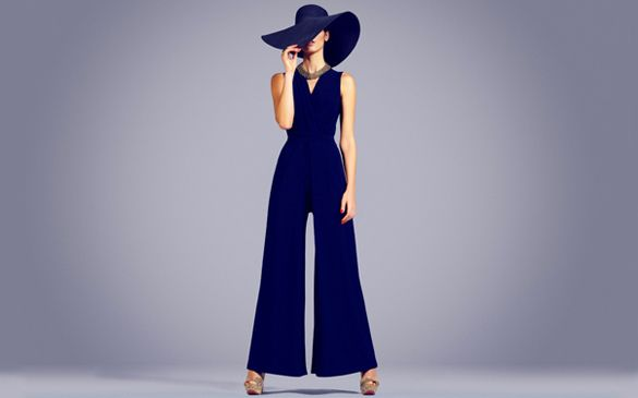 70S+Pantsuits | modern disco retro fashion for women - photo Phase Eight prshots.com