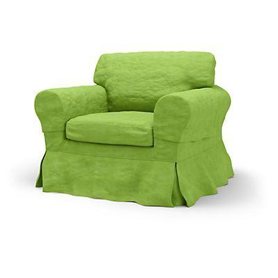 Ektorp Armchair cover Loose Fit Country - Housse de fauteuils | Bemz