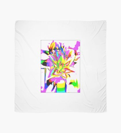psychedelic flower Scarf