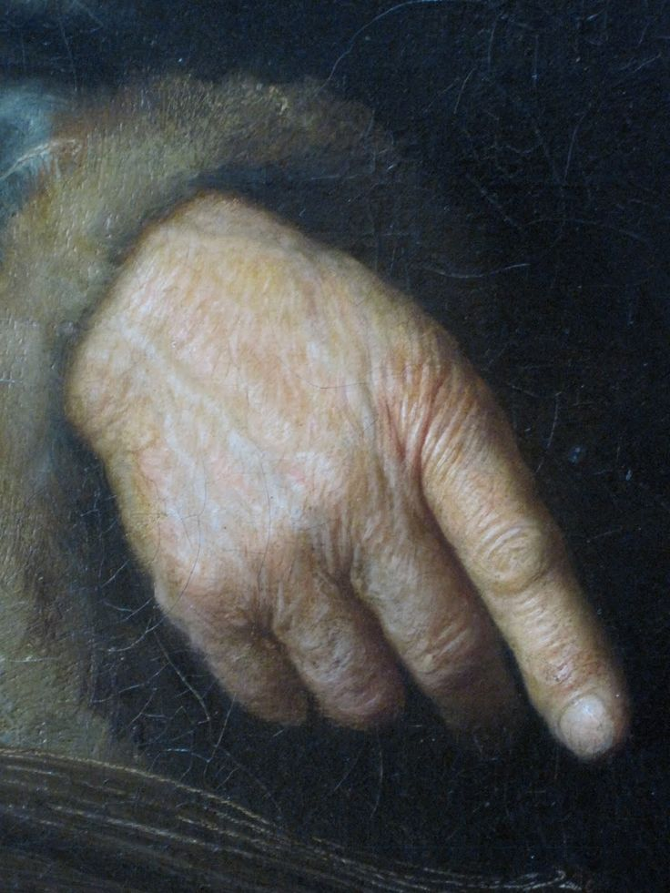 Rembrandt detail.i personally like the look of hands that work... makes the person more attractive to me..
