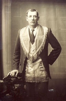 Charles Palin, member of the Manchester Unity Order of Oddfellows, Broken Hill, NSW, Australia