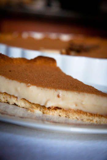 Milk tart - a South African favourite dessert!