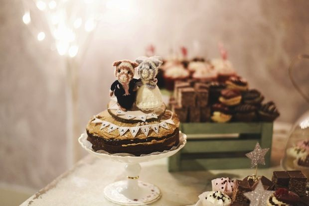 Pastel and Retro Wedding in Dublin by Ewa Figaszewska // www.onefabday.com