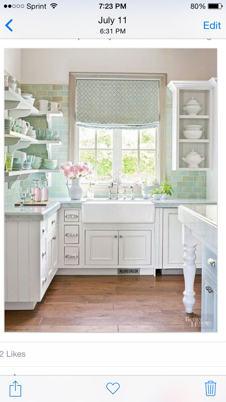 1500 Best Images About Shabby Chic Kitchens On Pinterest