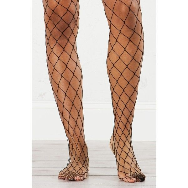 She Loves You Fish Net Tights (£9.91) ❤ liked on Polyvore featuring intimates, hosiery, tights, net stockings, fish tights, mini stockings, fish net tights and net tights