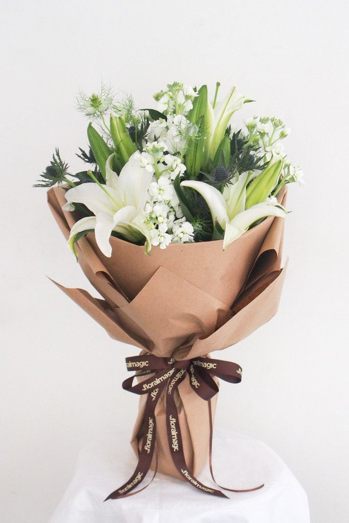 45 best Wrapping Bouquet images on Pinterest | Floral bouquets ...