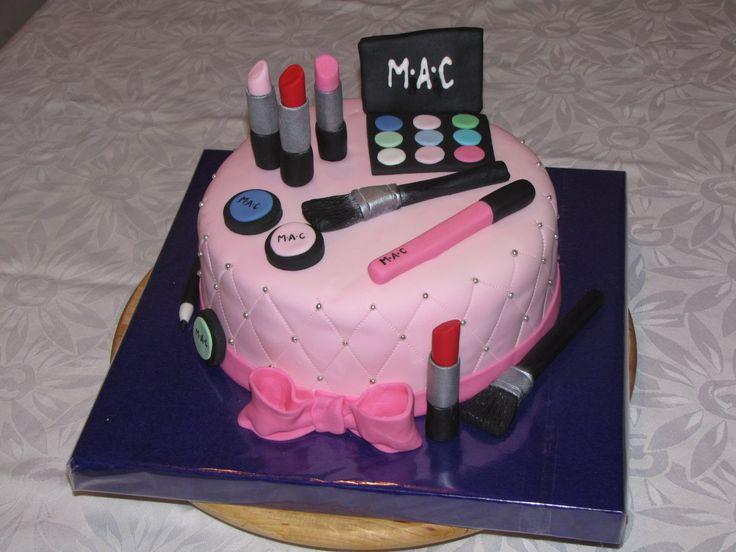 M A C Makeup Cake M A C Makeup Cake For Jenna S 15th