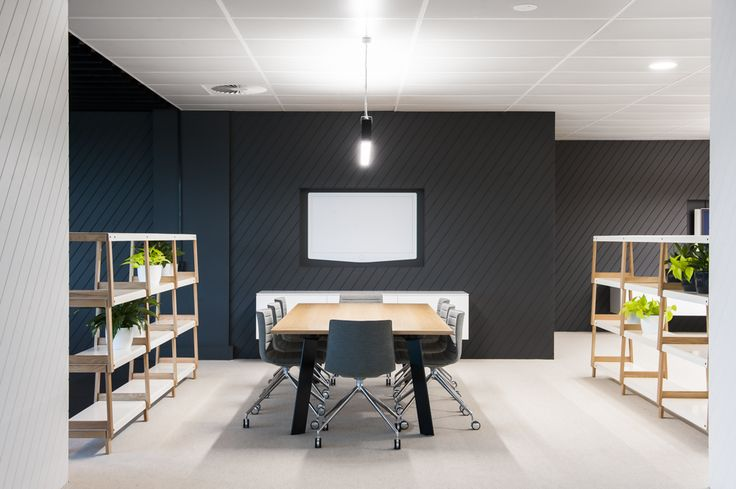 Fit Shelving by Derlot Editions, Catifa 46 4 Way Castor by Arper & Blade Workstation by Thinking Works. Featured in Valad designed by Hassell. Photographer: Nicole England Available from Stylecraft.com.au