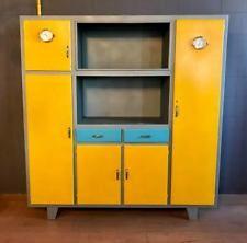Mobile credenza cucina design anni \'50 restaurata legno ...
