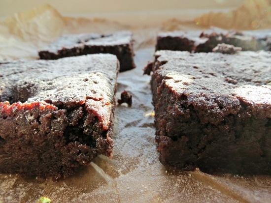 The Cake Hunter: Vegan Cherry and Chocolate Brownies - UK Baking Blog