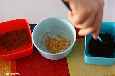 Attività artistiche per bambini: dipingere con tè, caffè... e spezie! - Painting with coffee, tea and spices