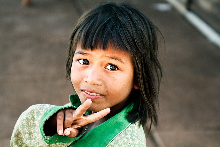 khmer children faces