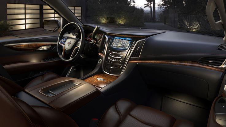 #Cadillac #Esclade 2015: gli interni