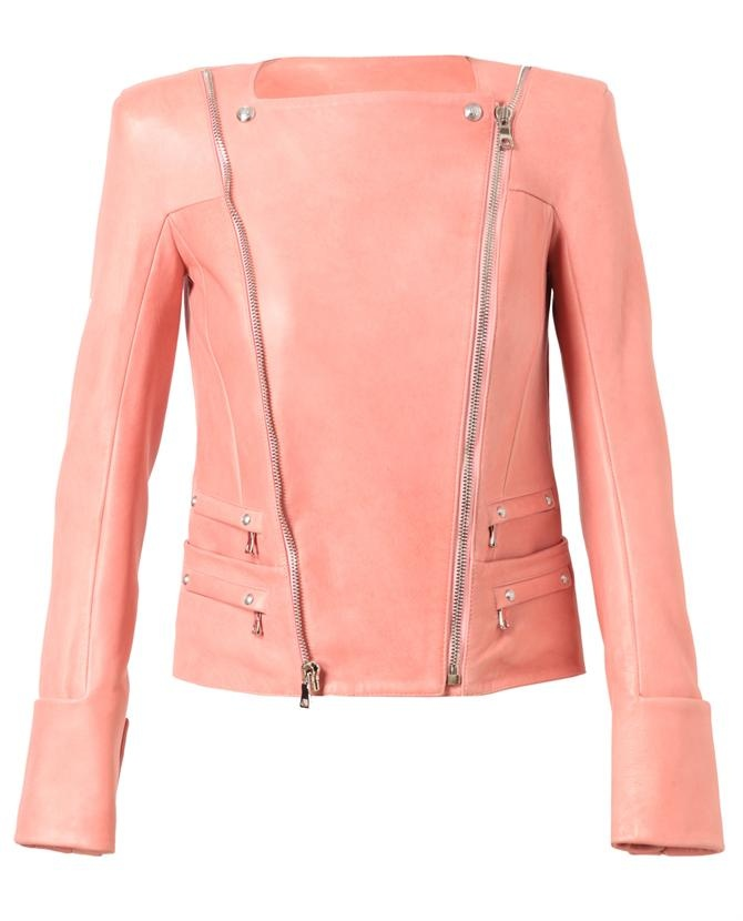 Leather Biker Jacket by BALMAIN
