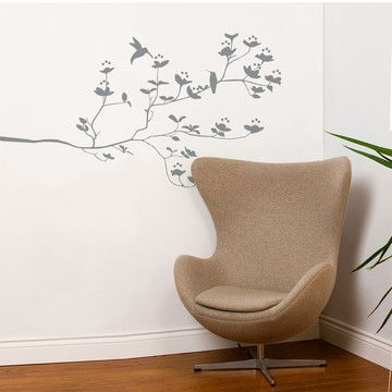Birds And Buds Decal 32x55 Gray now featured on Fab.32X55 Gray, Ideas, Decals 32X55, Bud Decals, Spots Birds, Adzif, Wall Decals, Products, Bud Wall