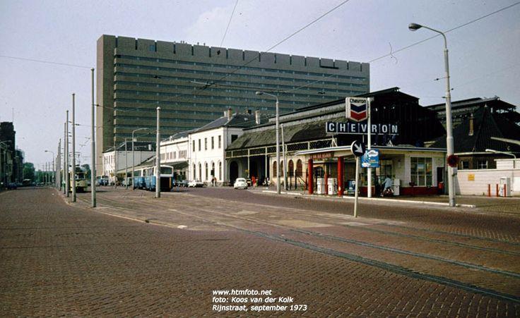 """Den Haag 1973: Het Staatsspoor. Dit was de """"voorloper"""" van het huidige Centraal Station in Den Haag!"""
