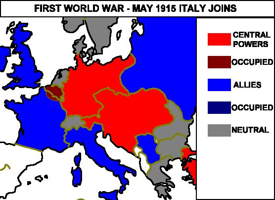 27 best history of italy images on pinterest maps military and italy joined the allies world war gumiabroncs Gallery