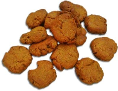Pumpkin, peanut butter with a dash of cinnamon dog treats... Makes your kitchen smell paw-some!
