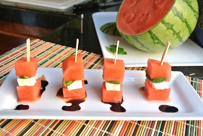 Mom, What's For Dinner?: Watermelon Appetizer