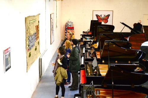 Marburae Art Gallery in Shackleford Pianos, Cheshire  www.artinmacclesfield.co.uk