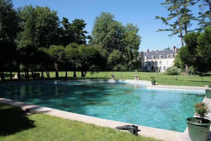 Château en Champagne - Orbais-l'Abbaye, Champagne-Ardenne, Frankrig - SER RET VILDT UD :-) med pool - 13400 dkr 11 t 31 min 1.141 km 10 t 19 min uden trafik