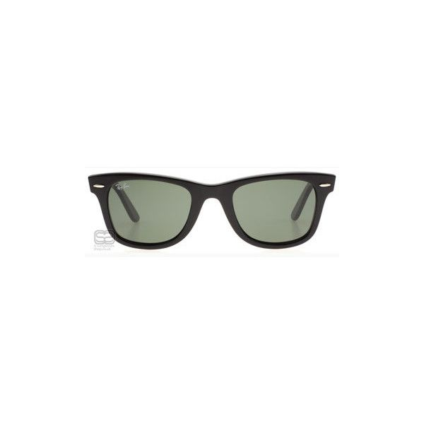 Ray-Ban 2140 Wayfarer Black > Ray-Ban Sunglasses > 2140 901 > UK (235 AUD) ❤ liked on Polyvore featuring accessories, eyewear, sunglasses, glasses, anteojos, fillers, ray ban eyewear, ray ban glasses, ray ban sunnies and ray ban sunglasses