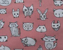 Stenzo animals pink