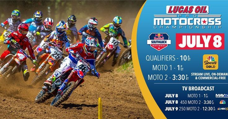 How to watch today's action from Southwick. #motocross #thisismoto #realracing #moto