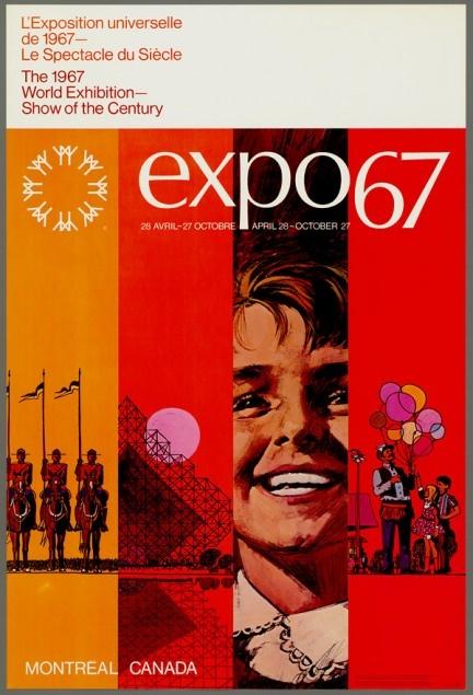 Montreal Expo '67 #montreal #canada #worldsfair #expo
