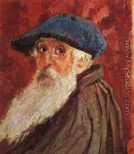 Self Portrait I - Claude Oscar Monet