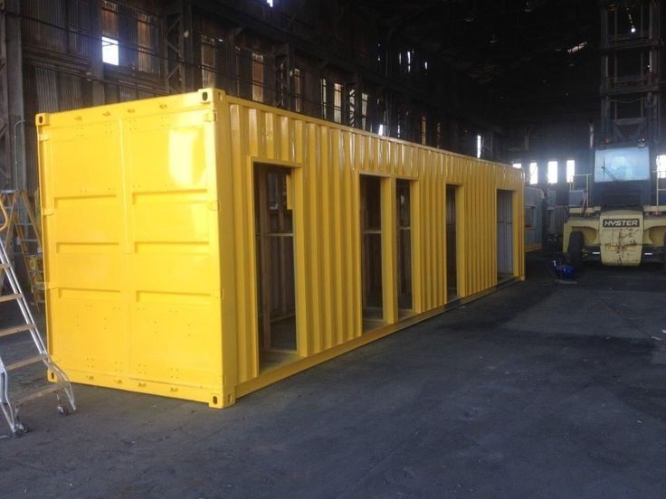 Modified 40ft High Cube, custom painted ready for delivery