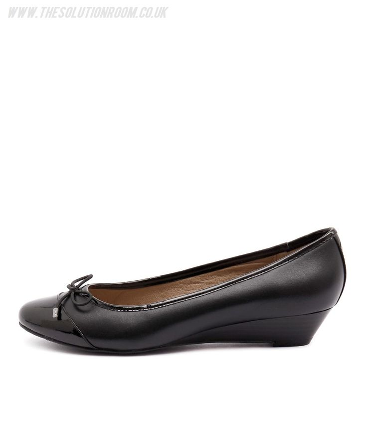 Women Prestin Black/Black Patent by Hush Puppies Shoes Sale