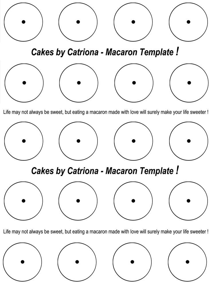 printable french macaron template - 10 best images about macarons on pinterest pastries