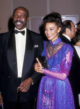 Louis Gossett Jr. & Cynthia James-Reese - Ron Galella/WireImage/Getty Images