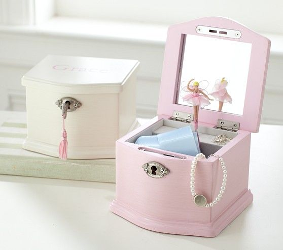 Ballerina Jewelry Box - was going to get for my sister, but it won't ship until the end of January..