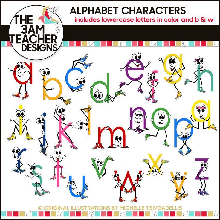 Best Alphabet Clip Art Images On   Types Of Font