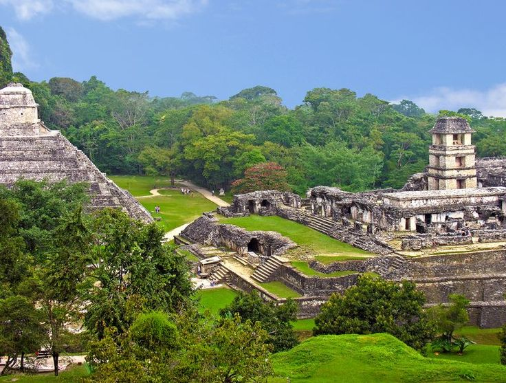 Panoramic View of Palenque