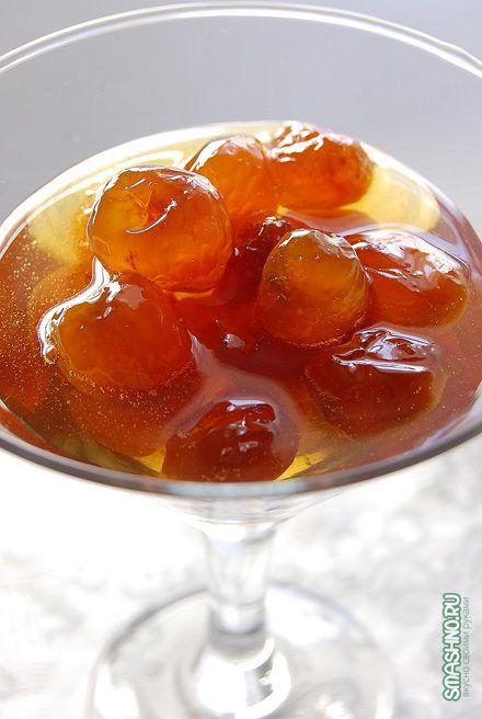 Варенье из черешни / Cherry jam