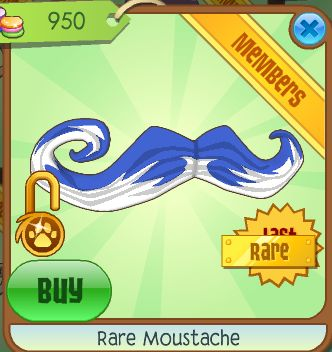 omg when I get membership I'm gonna put a moustache on my arctic fox XD