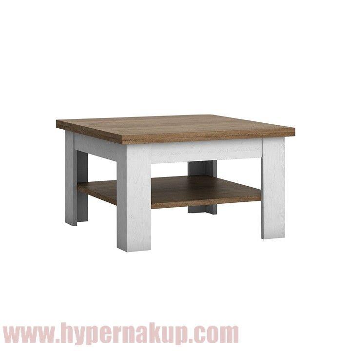 Konferenčný stolík, DTD laminovaná, sosna Andersen/dub lefkas, PROVANCE